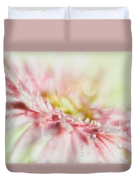 Pink Duvet Cover by Mark Johnson