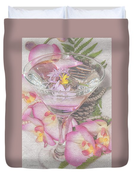 Pink Martini Duvet Cover