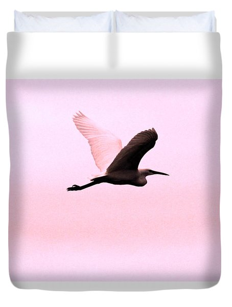 Pink minimalist great heron photograph by alex antoine for Art minimaliste pdf