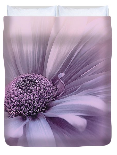 Duvet Cover featuring the photograph Pink Mist by Darlene Kwiatkowski