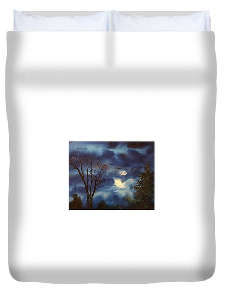 Pink Moon      19 Duvet Cover