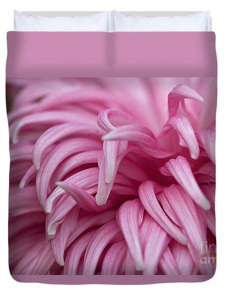 Pink Mum Duvet Cover by Jim Gillen