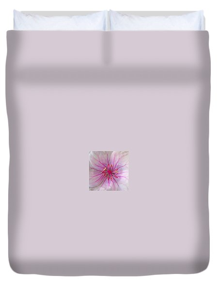 Pink No. 3  Duvet Cover by Judith Harvey