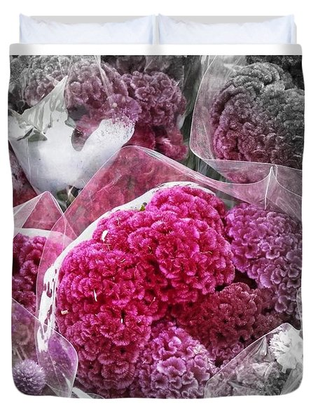 Pink Paradise Duvet Cover