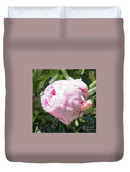Pink Peony IIl Duvet Cover