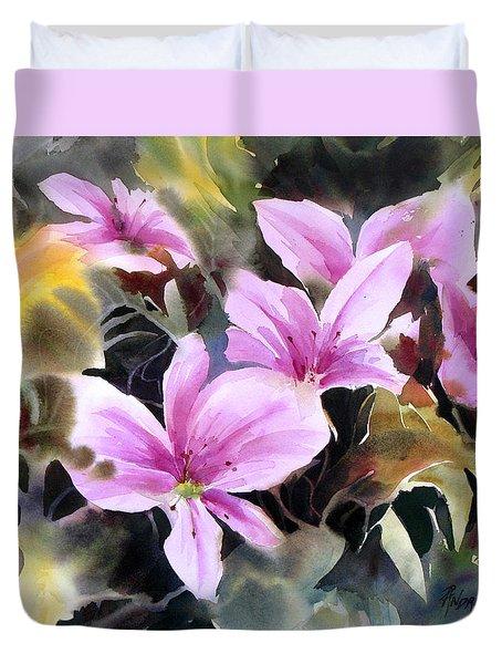 Pink Prize Duvet Cover