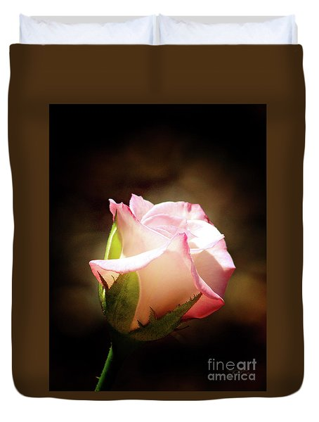Pink Rose 2 Duvet Cover