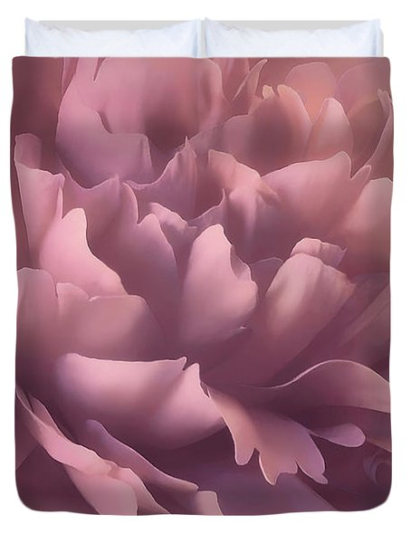 Duvet Cover featuring the photograph Pink Splash by Darlene Kwiatkowski