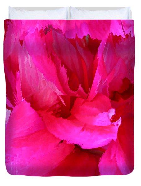 Pink Splash Duvet Cover