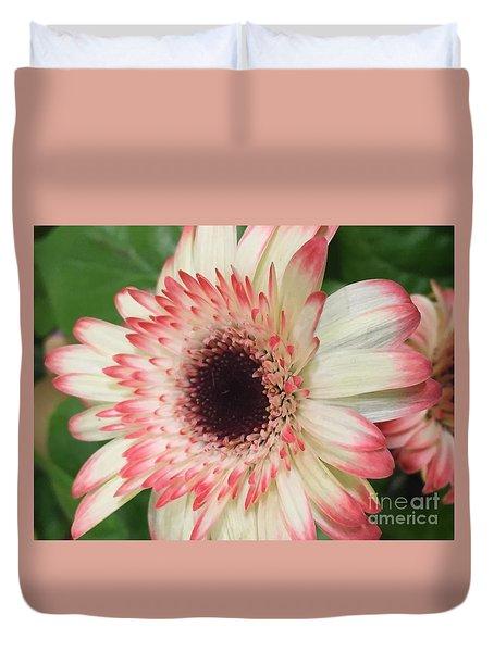 Pink Tips Duvet Cover