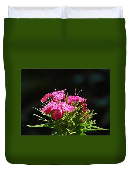 Pink William Duvet Cover