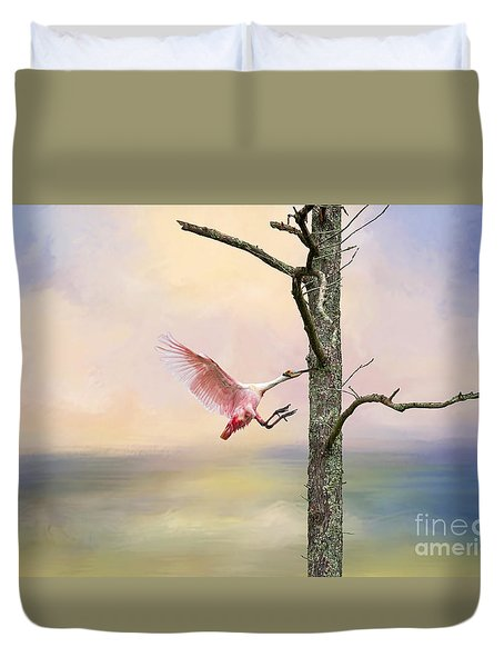 Pink Wonder Duvet Cover by Bonnie Barry