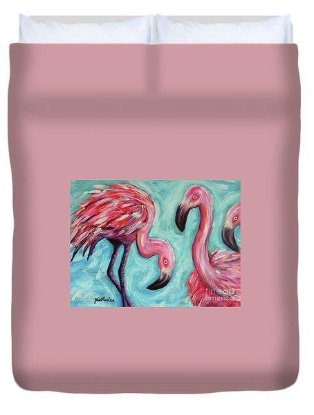 Pinkies Duvet Cover