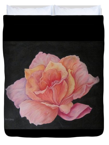 Pinky Duvet Cover by Barbara O'Toole