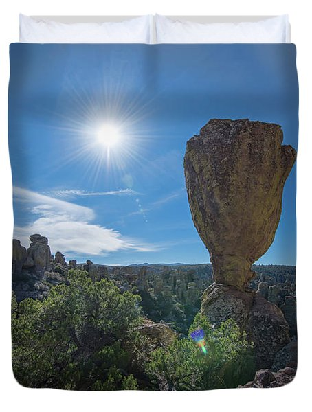 Pinnacle Rock Duvet Cover