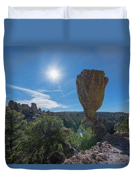 Pinnacle Rock Duvet Cover