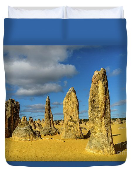 Pinnacles 6 Duvet Cover