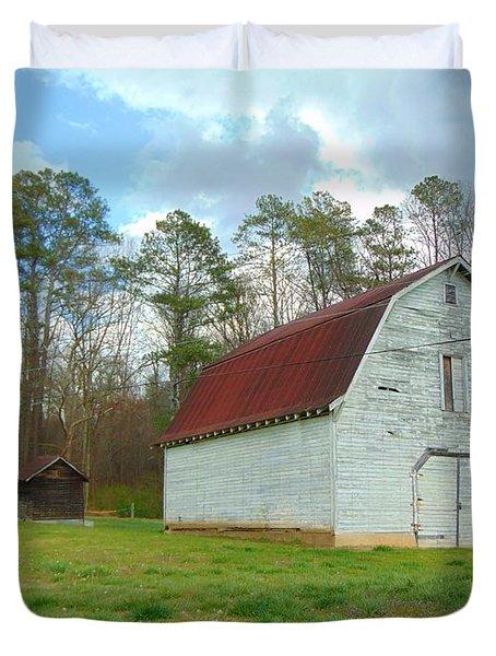 Pinson Farm Barn Duvet Cover