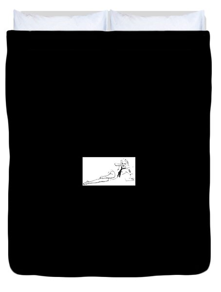 Pinup Duvet Cover