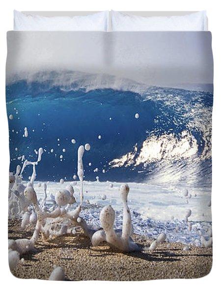 Pipe Foam Duvet Cover