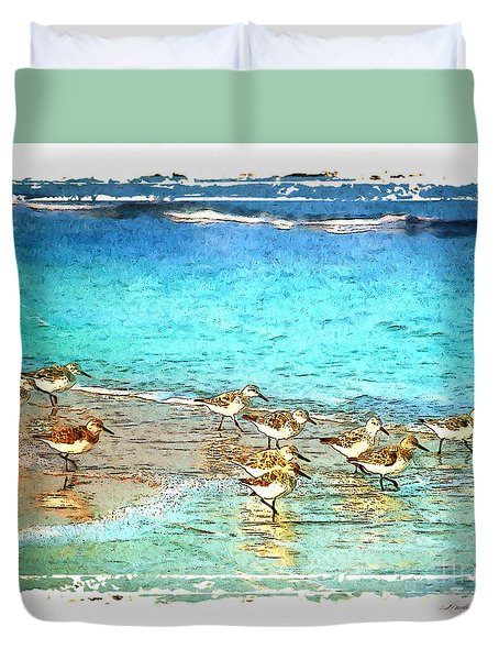 Pipers Run Duvet Cover by Linda Olsen
