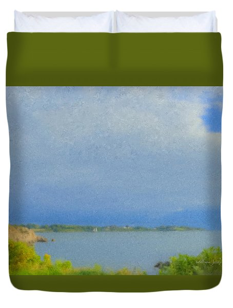 Pirate Cove Jamestown Ri Duvet Cover