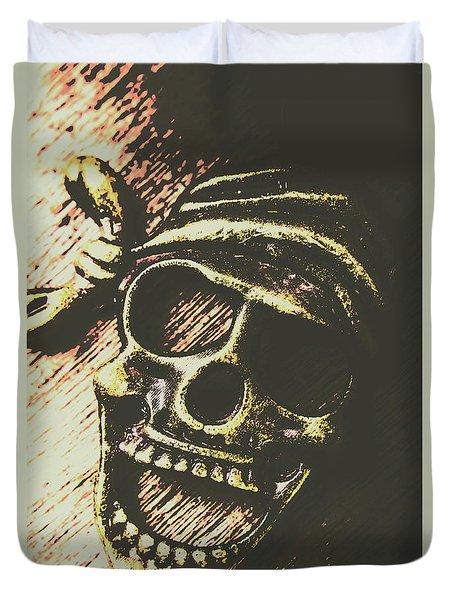 Pirate Metal Duvet Cover