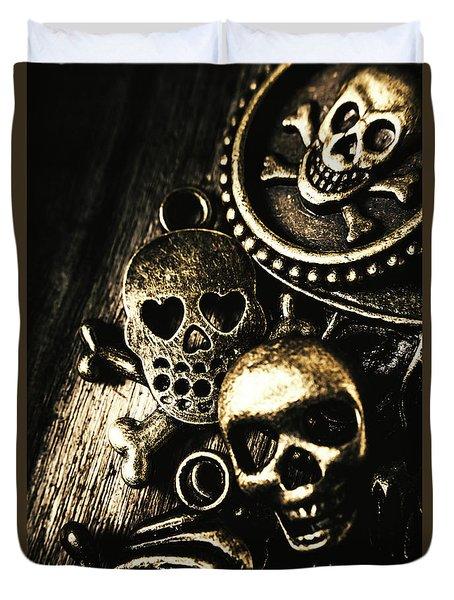 Pirate Treasure Duvet Cover