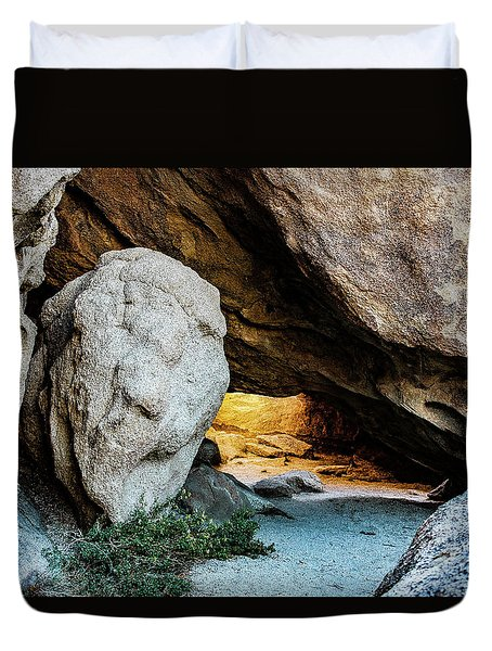 Pirate's Cave Duvet Cover