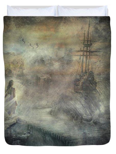 Pirates Cove Duvet Cover