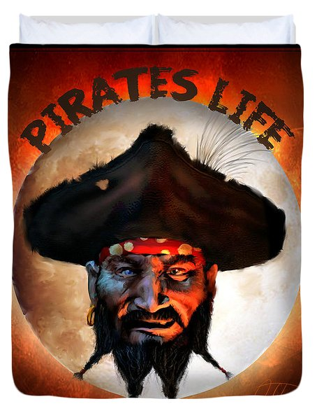 Pirates Life Duvet Cover