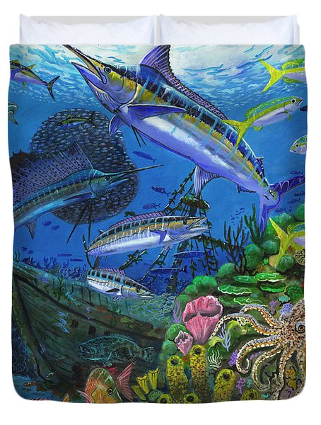 Pirates Reef Duvet Cover