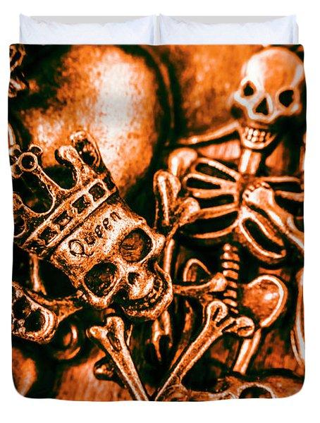 Pirates Treasure Box Duvet Cover