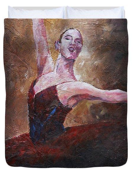 Pirouette  Duvet Cover