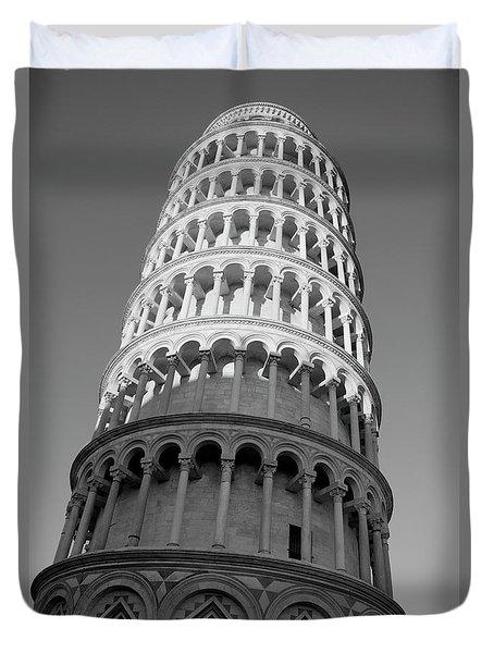 Pisa Tower Duvet Cover