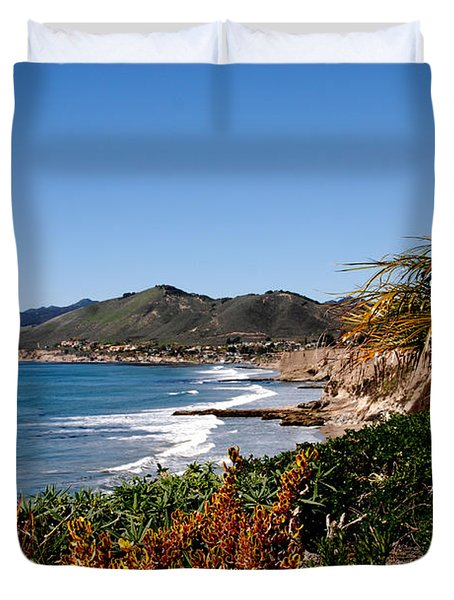 Pismo Beach California Duvet Cover by Susanne Van Hulst