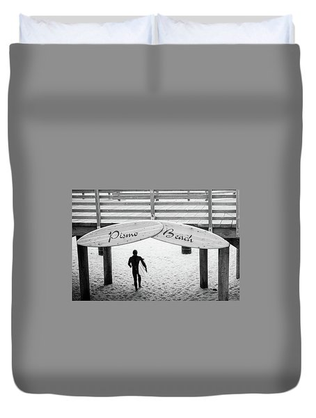 Pismo Beach  Duvet Cover