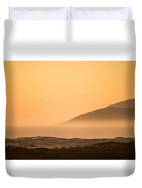 Pismo Sunrise Duvet Cover
