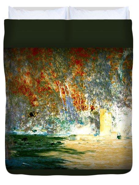 Pissarro's Garden Duvet Cover