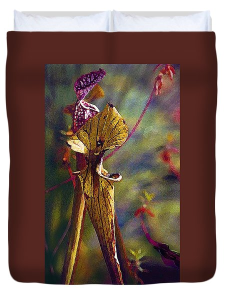 Pitcher Plant Duvet Cover