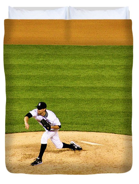 Pitchin' Pro Duvet Cover