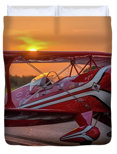 Pitts Sunset Duvet Cover