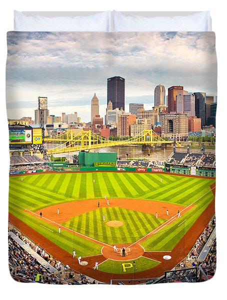 Pittsburgh Pirates  Duvet Cover by Emmanuel Panagiotakis