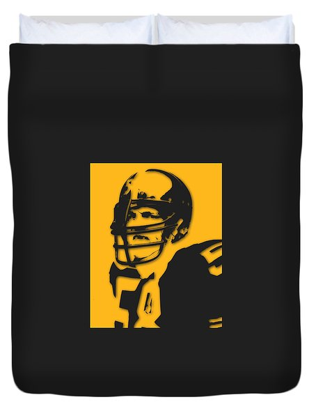 Pittsburgh Steelers Jack Lambert Duvet Cover