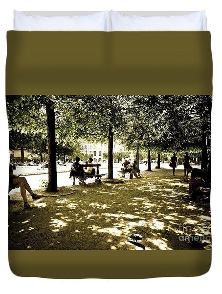 Place De Vosges Duvet Cover by Perry Van Munster