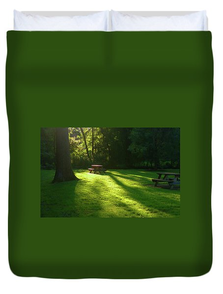 Place Of Honor Duvet Cover