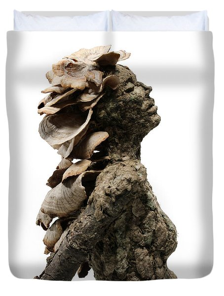 Placid Efflorescence A Sculpture By Adam Long Duvet Cover by Adam Long