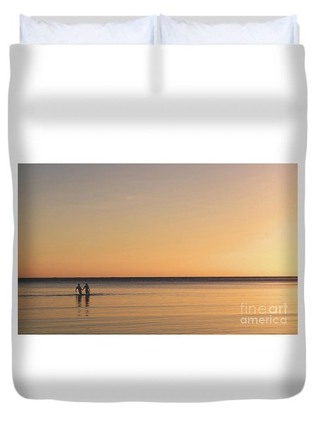 Placid Duvet Cover