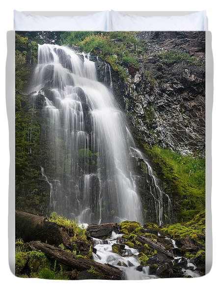 Plaikni Falls Duvet Cover