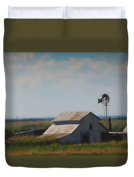 Plains Painted Barn Duvet Cover